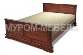 Здесь изображено Кровать Венеция из массива