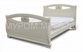 Здесь изображено Кровать Эльза с ортопедическим основанием