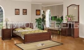 Здесь изображено Спальный гарнитур Бажена