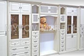 Здесь изображено Стенка из серии шкафов
