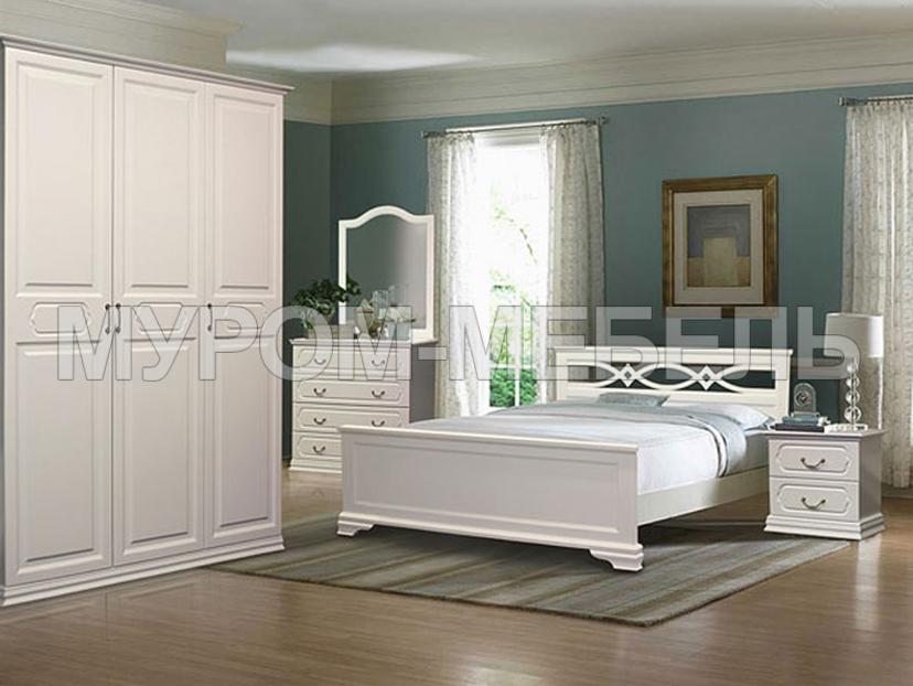Здесь изображено Спальный гарнитур Лира