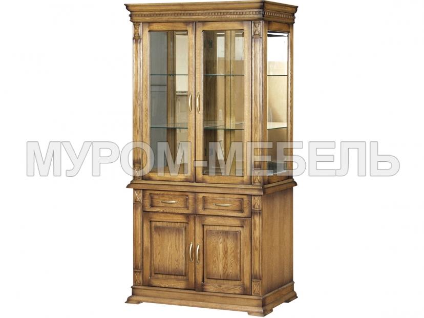 Здесь изображено Шкаф двойной Флоренция-2