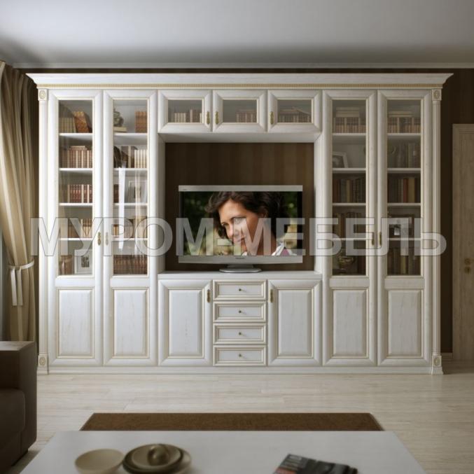Здесь изображено Шкаф с нишей под ТВ из серии