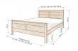 Здесь изображено Кровать Вермонт 2
