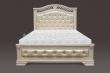 Здесь изображено Кровать Оливия с мягкой вставкой