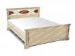 Здесь изображено Кровать Лирона из дуба